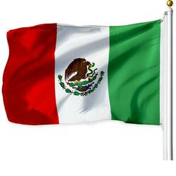 New 3'x5' Polyester MEXICO FLAG Mexican Banner Pennant B