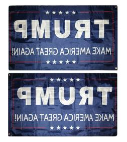 3x5 Donald Trump Make America Great Again! Double Sided 2ply