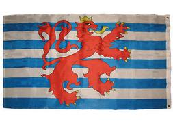 3x5 Ensign of Luxembourg Lion Flag 3'x5' Banner Brass Gromme