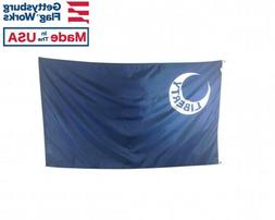 3X5' FORT MOULTRIE HISTORIC LIBERTY MOON Durable All-Weather