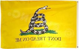 3x5 Ft Gadsden DONT TREAD ON ME Culpepper Rattlesnake Tea Pa