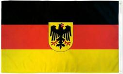 3x5 Germany Flag with Eagle German Banner Deutschland New In