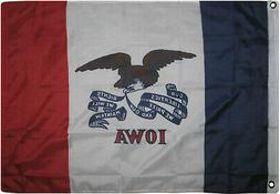 3x5 State of Iowa Flag 3'x5' House Banner Super Polyester Gr