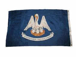 3x5 State of Louisiana Flag 3'x5' Grommets Banner Indoor Out