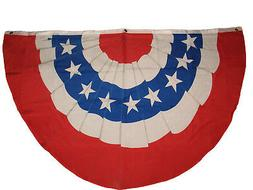 3x5 USA BUNTING FLAG PARADE BANNER RED WHITE BLUE FLAG 3 Gro