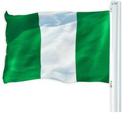 G128 - 3x5ft Nigeria Flag Nigerian National Banner Country F