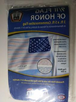 9/11 Flag of Honor 911 Annin Flagmakers Printed w/all names