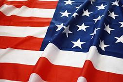 Eugenys American Flag  - 100% Super Polyester Material - FRE