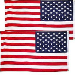 LSIKA-Z American Flag 3x5 Foot, USA Flag with 2 Brass Gromme