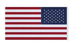 NuLink American Flag 5x8 Ft USA US Embroidered Stars Sewn St