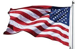 eder products American Flags Outdoor - US Made 100% - All We