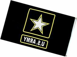 """Army """"New Style"""" MILITARY Flag - 3 foot by 5 foot Polyester"""