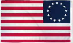 Betsy Ross Flag 3x5 13 Colonies Colonial American 13 Star US