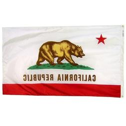 California State Flag Nylon Official Design Flags 3x5 Ft. Au