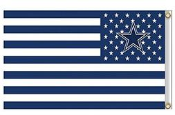 New Dallas Cowboys Flag, Exclusive NFL Merchandise for Indoo