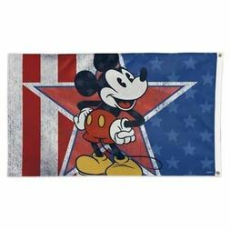 WinCraft Disney Micky Mouse Americana Flag 3 x 5 Foot