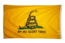 Don't Tread on Me 3x5FT Flag Banner Gadsden Tea Party Patrio