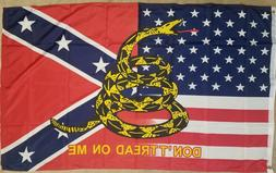 dont tread on me flag 3 x