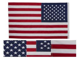 Embroidered USA Flag 3X5 Foot US Stars and Stripes American