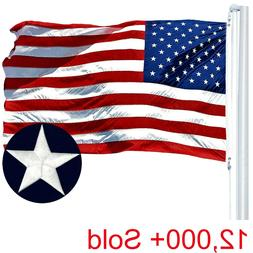 G128 – American Flag US USA | 3'x5' ft | EMBROIDERED Stars