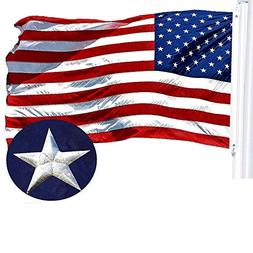 G128 – American Flag | 3x5 feet | Embroidered 210D – Emb