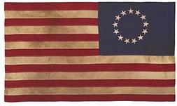 Valley Forge, American Flag, Cotton, 3' x 5', 100% Made in U