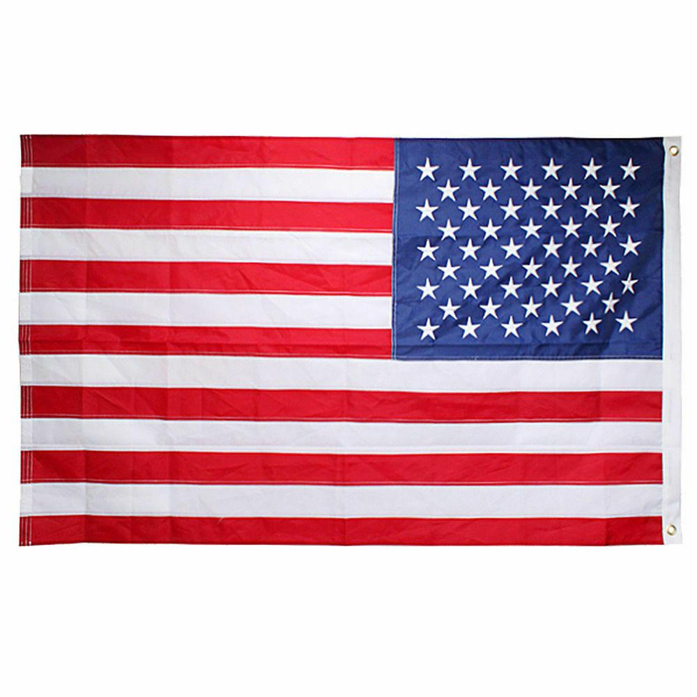 3'x 5' Flag U.S.A United States Brass Grommets