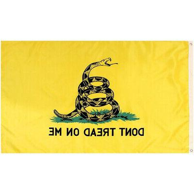 3x5 ft gadsden dont tread on me