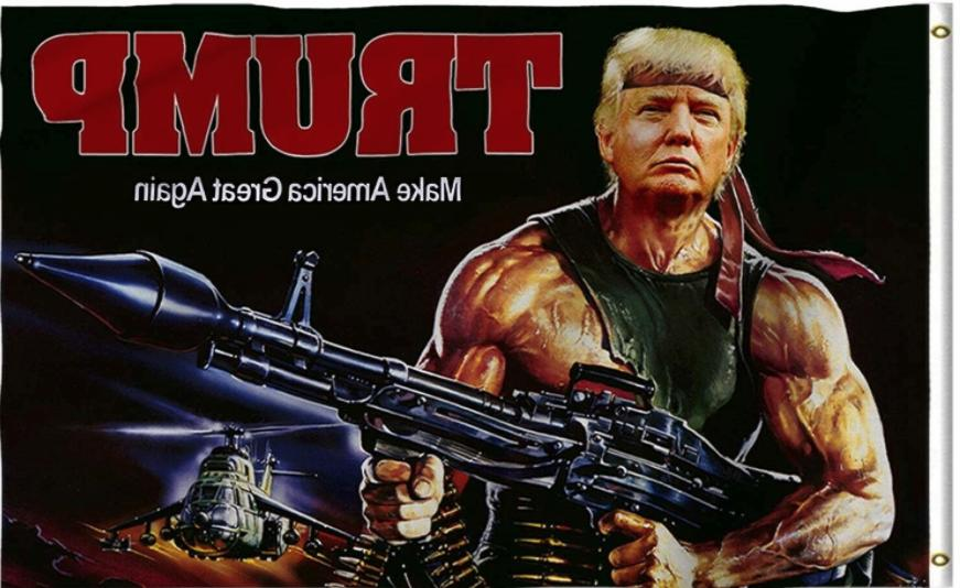 Trump 2020 Feet Great MAGA Rambo