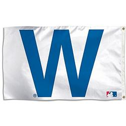 WinCraft MLB Chicago Cubs 02484115 Deluxe Flag, 3' x 5'