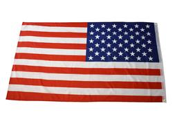 NEW American Flag All-Weather Outdoor Polyester Show USA Pat