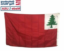 New England Continental Pine Tree Flag Durable All Weather N