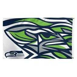 NFL Seattle Seahawks Wincraft 3' X 5' Deluxe XFIT Flag With