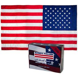 Valley Forge, American Flag, Nylon, 2.5' x 4', 100% Made in
