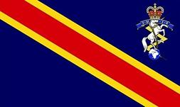 Royal Electrical and Mechanical Corps Flag 5ft x 3ft Large -