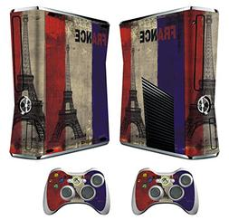 Skin for Xbox 360 Slim Sticker Decals for X360 Custom Cover