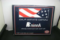 Annin UNITED STATE FLAG 3x5' ALL Weather NYL-GLO NYLON USA