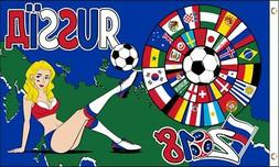Best Flags World Cup 2018  Flag 3x5ft Poly